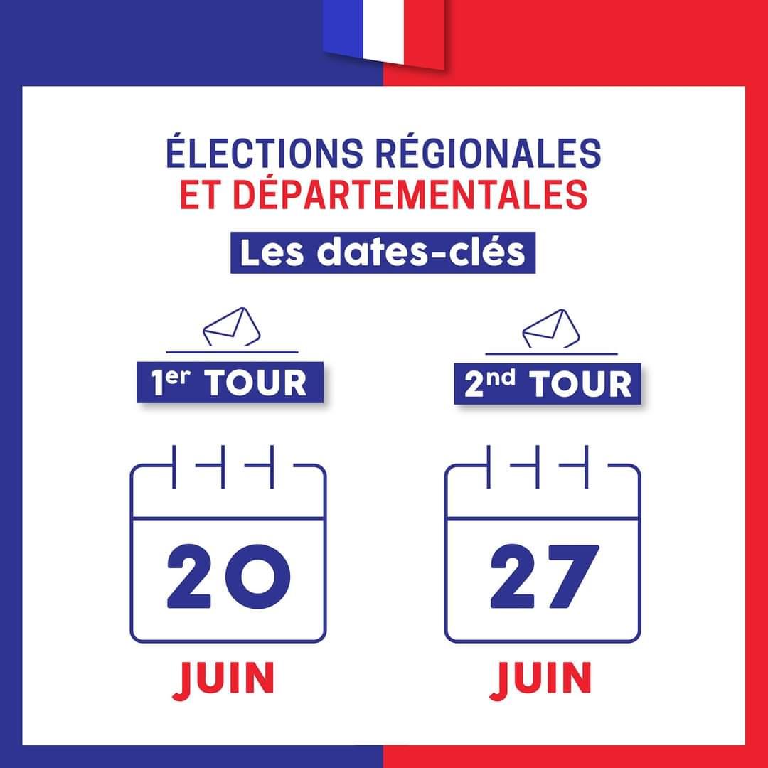 Election 20 et 27 06 21