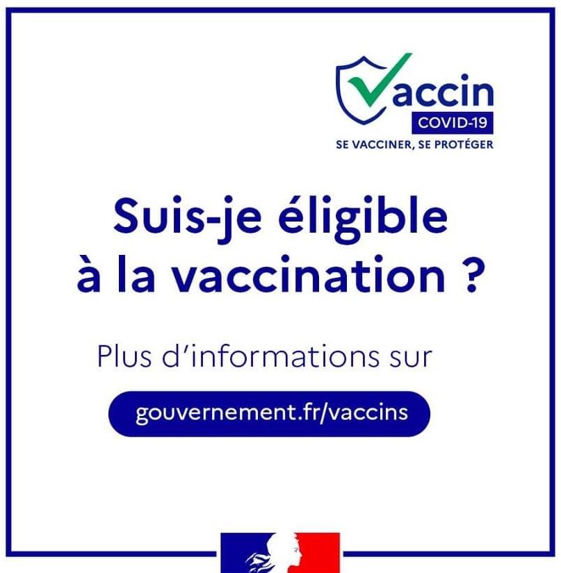 Eligible vaccin