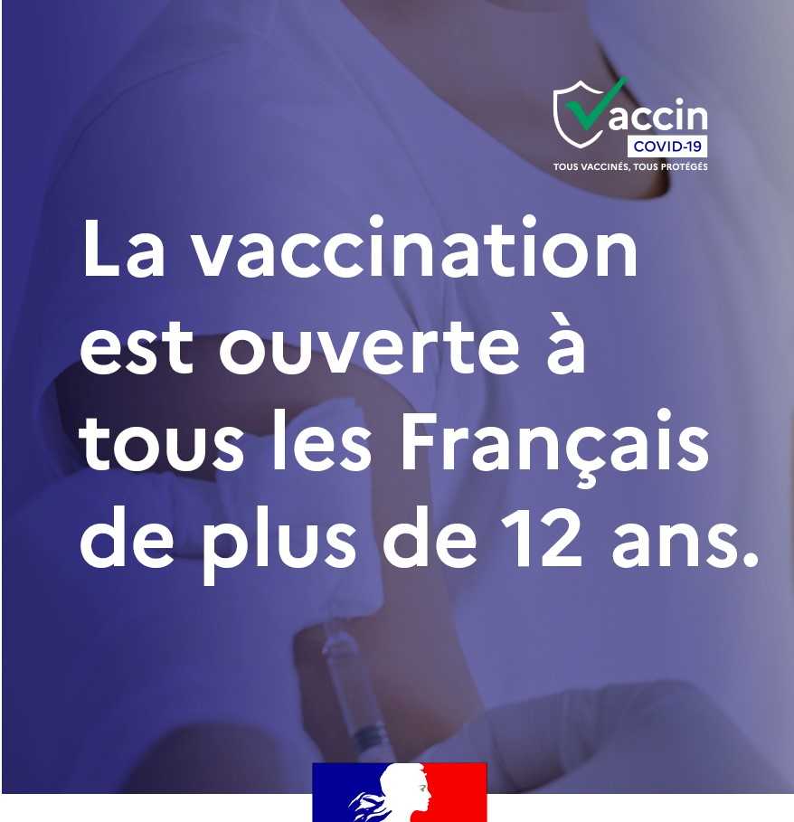 Vaccination 12 ans