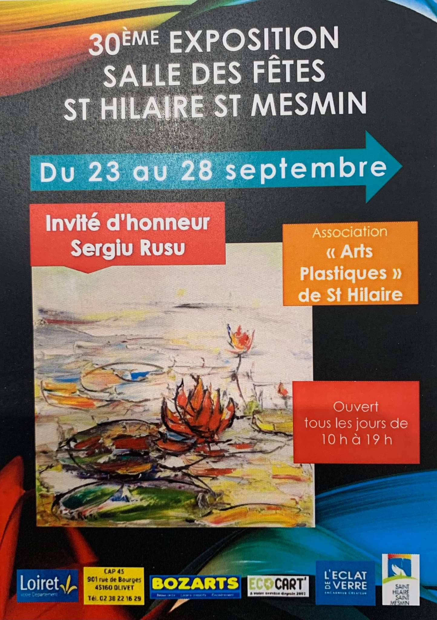 Expo st Hilaire 23 09 2021
