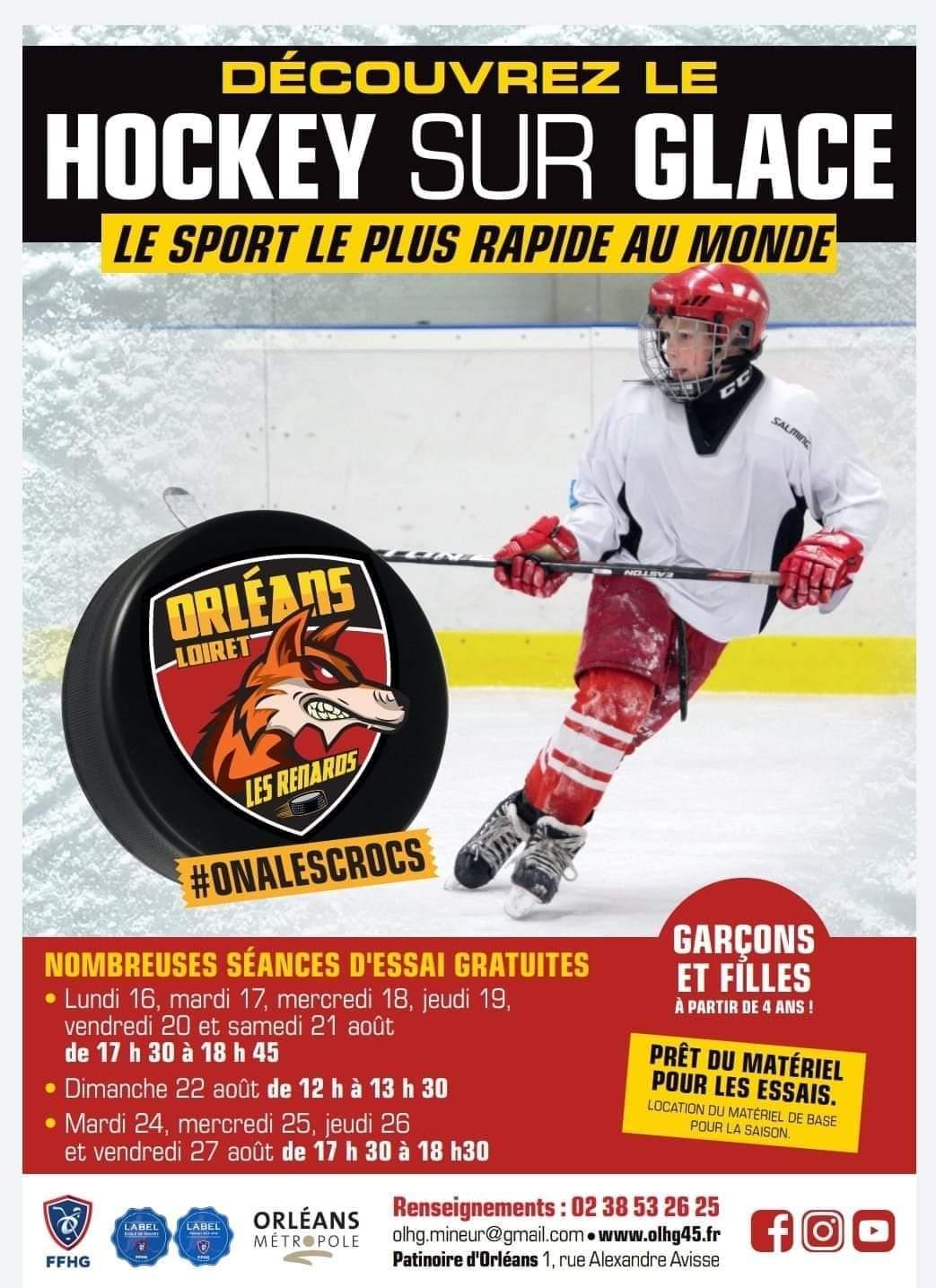 Hockey recrute 2021
