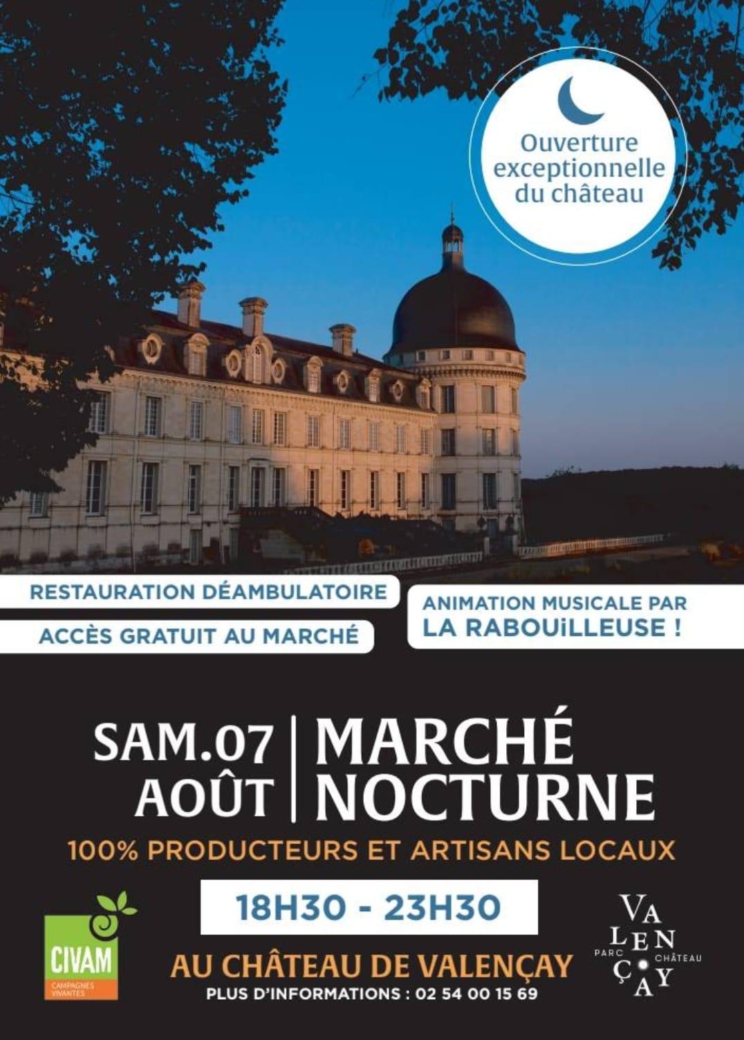 Marche nocturne Valencay 07 08 2021