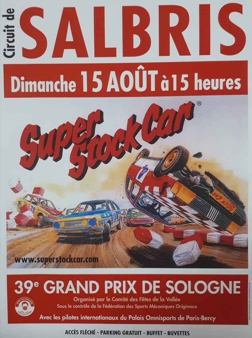 Stock car Salbris 15 08 2021