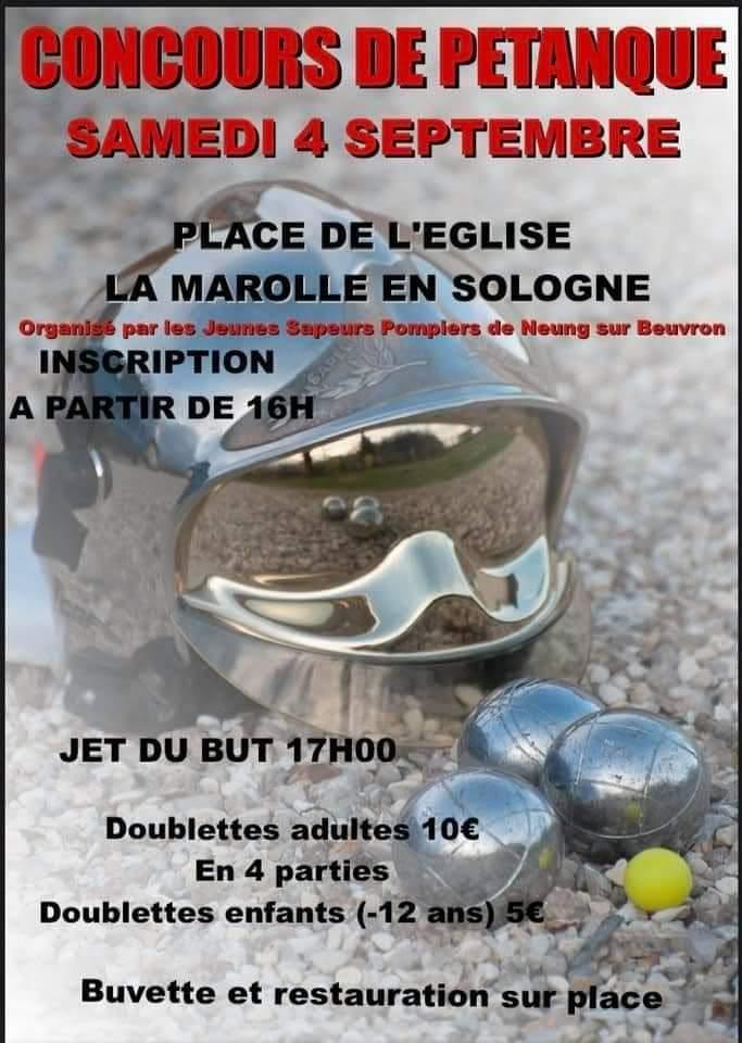 Petanque La Marolle 04 09 2021