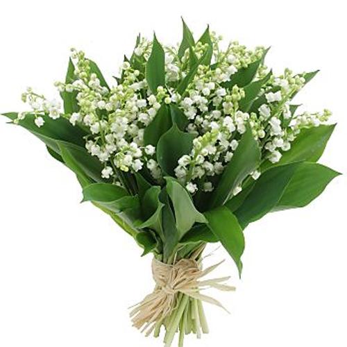 bouquet rond compose de muguet uniquement 3028 500